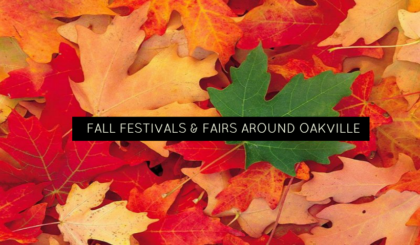 Fall Festivals And Fairs Around Oakville And Area