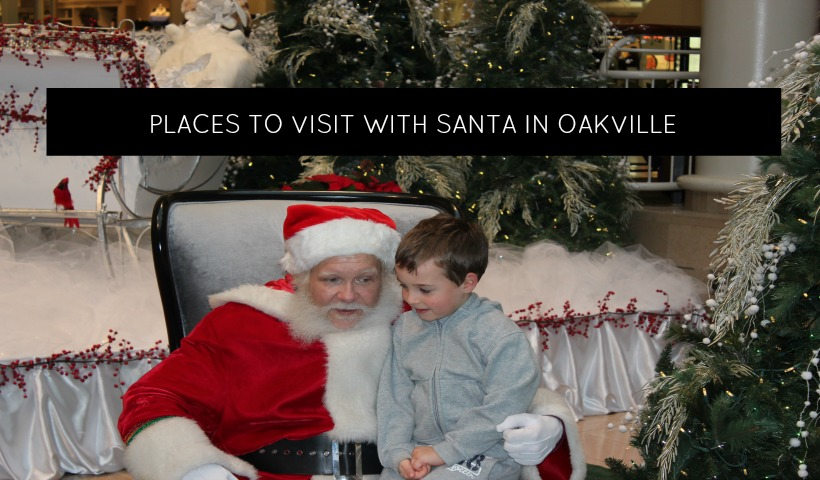Where Can You Visit Santa In Oakville & The GTA